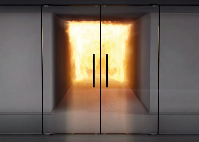 Предназначение на стъклени пожароустойчиви врати Бургас