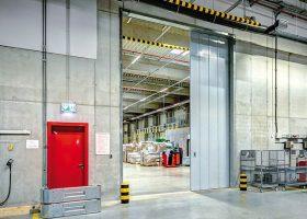 Плъзгащи пожароустойчиви врати за производствени сгради Бургас