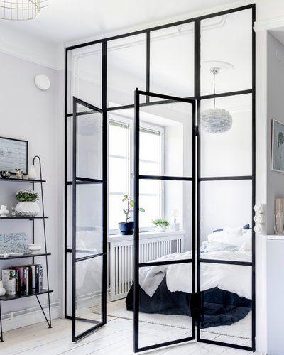 Остъклена вътрешна врата за спалня Трейдплас Бургас